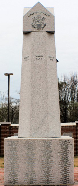 Heath Springs War Memorial
