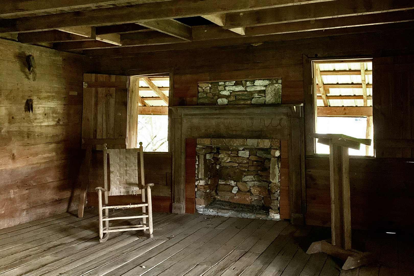 Hendrix Cabin Interior