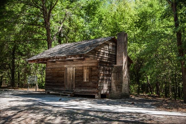 Hewn Timber Cabin FMU