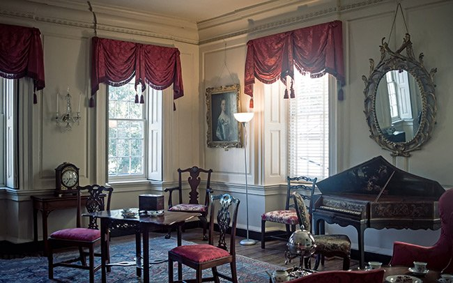 Heyward-Washington House Museum Drawing Room