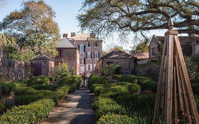 Heyward-Washington House Rear Formal Garden