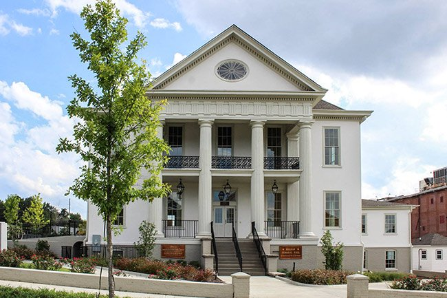 Hickman Hall Restored
