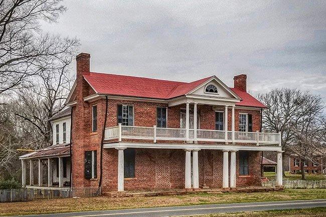 Historic Brattonsville's Brick House