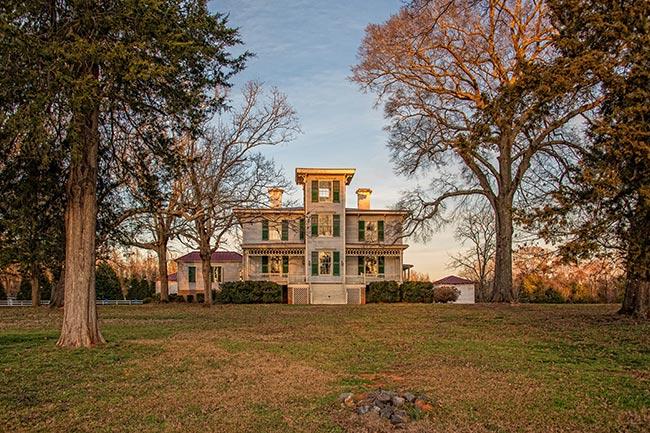 Historic Brattonsville, Hightower Hall