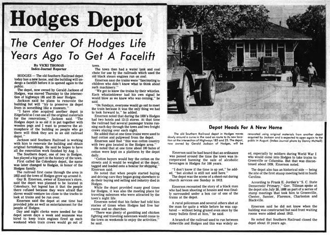Hodges Depot