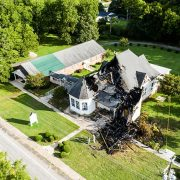 Hodges Presbyterian Church Fire