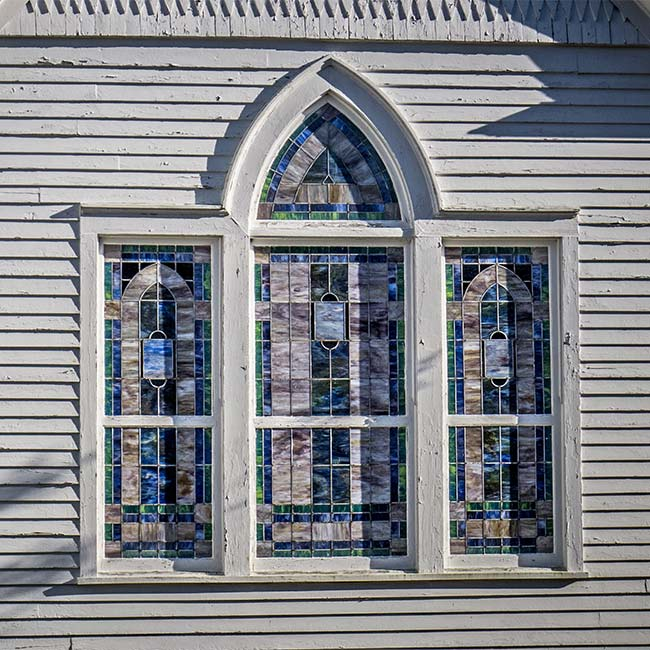 Hodges Presbyterian Church Window