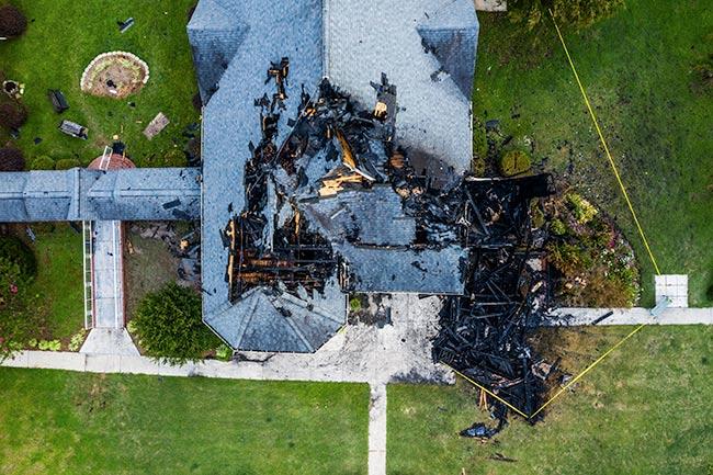 Hodges Presbyterian Fire Damage