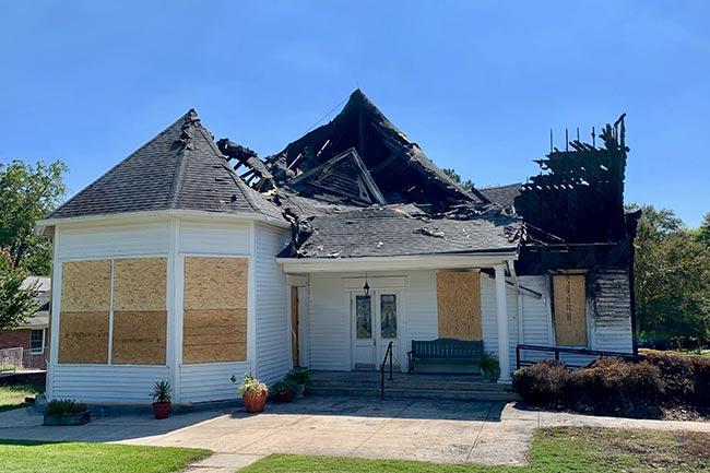 Hodges Presbyterian, Post Fire