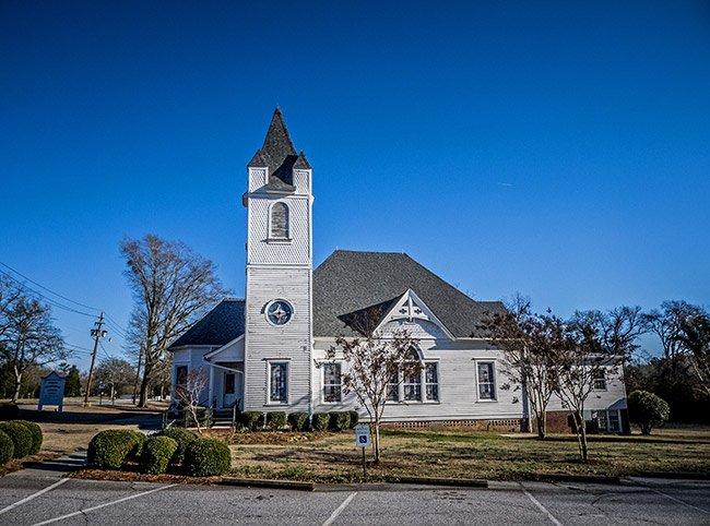 Hodges Presbyterian Church in South Carolina