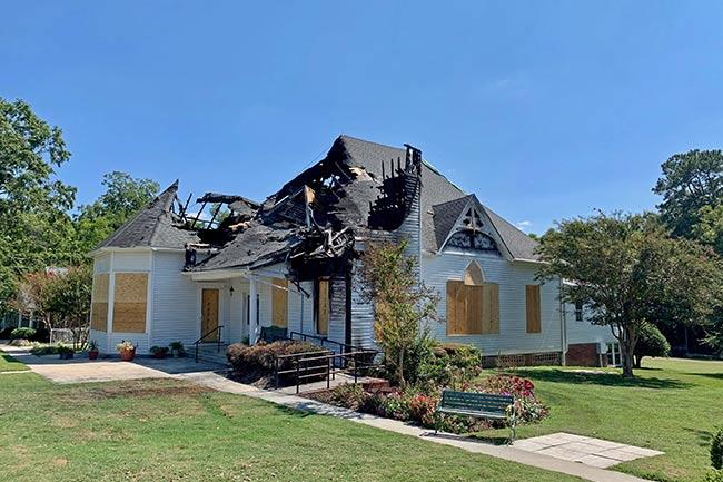 Hodges SC Fire Damage