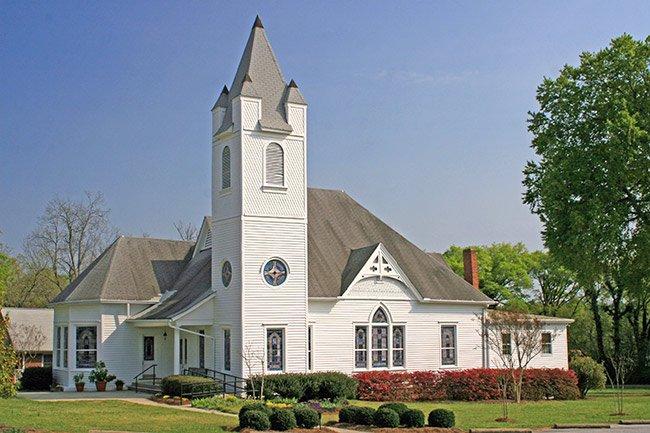 Hodges South Carolina Church