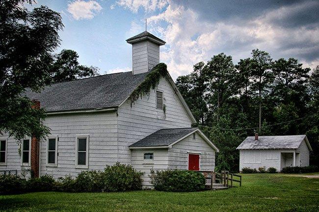 Hopewell Baptist Church in Clarks Hill
