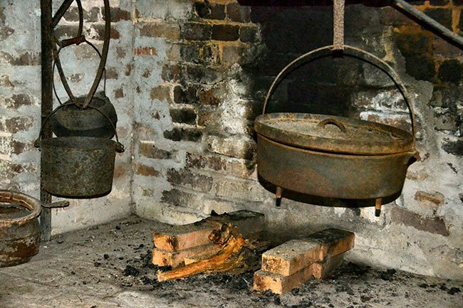 Hopsewee Plantation Kitchen Interior