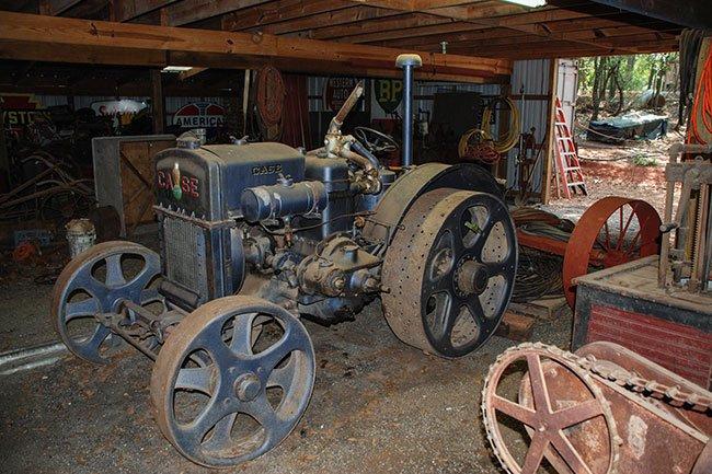 Hunter Farm Antique Tractor