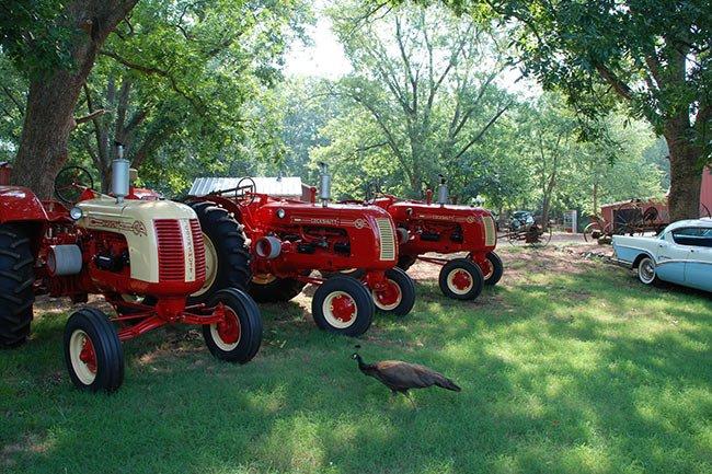 Hunter Farm Antique Tractors