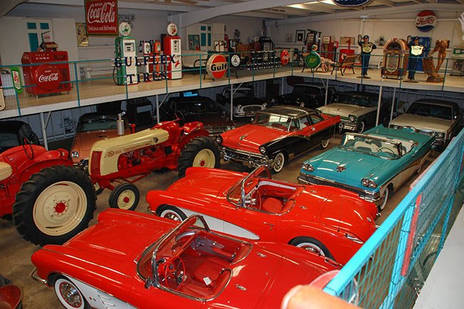 Hunter Farm Car Collection