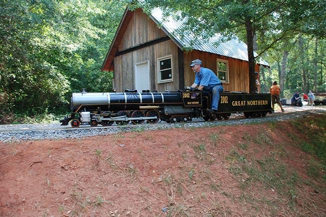 Hunter Farm Railroad Track