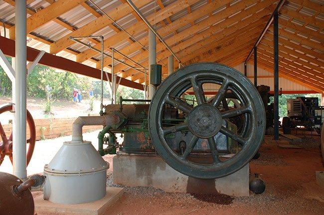 Hunter Farm Steam Engine