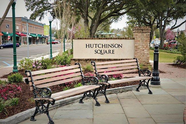 Hutchinson Square Sign
