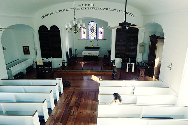 Interior of St. Paul's Episcopal
