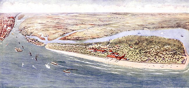 Isle of Palms, Ariel View