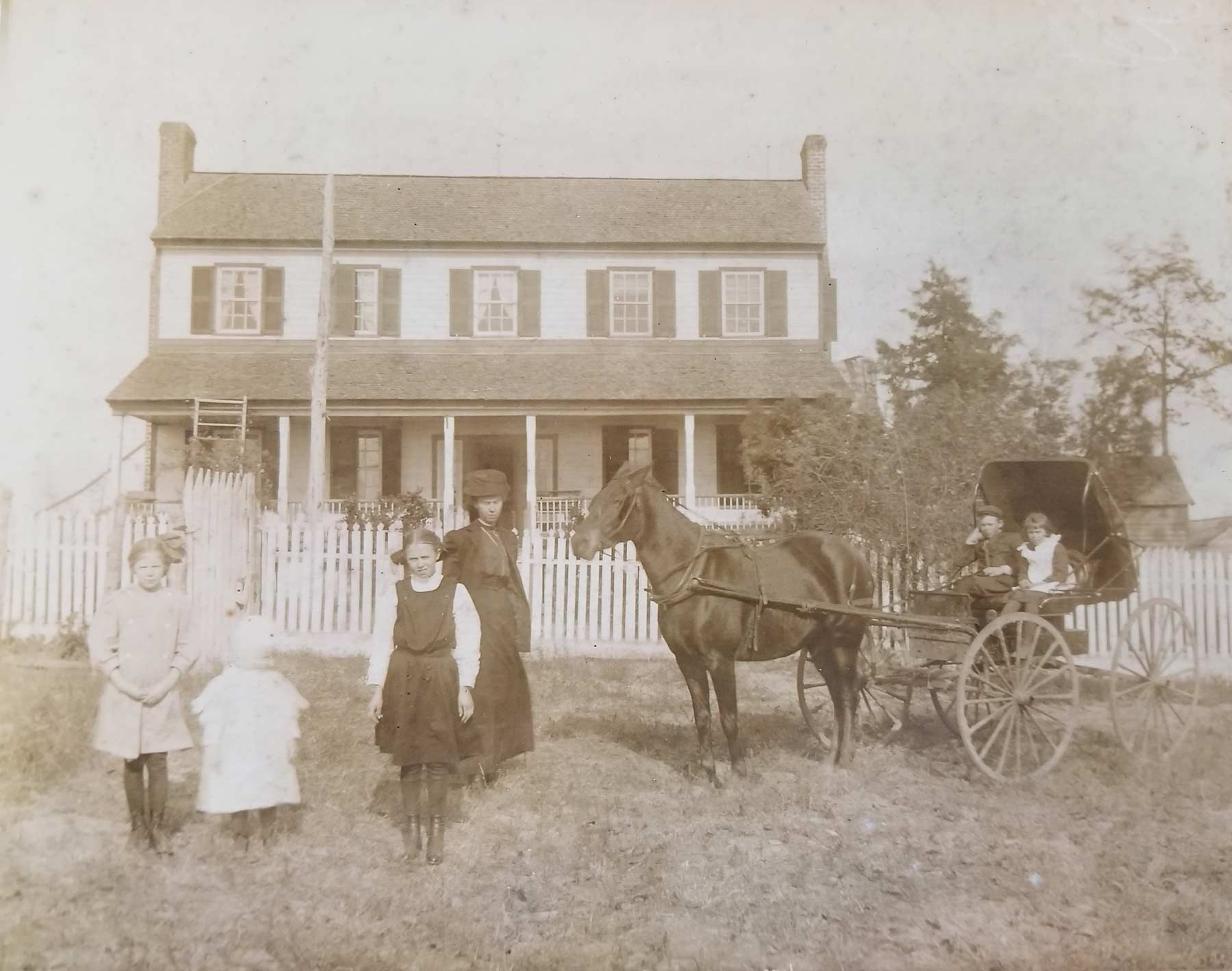 Jane Turner Place, Historic