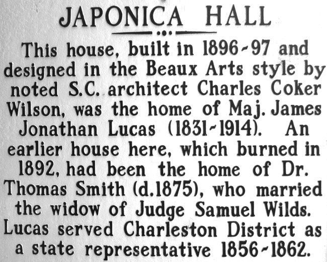 Japonica Hall Marker