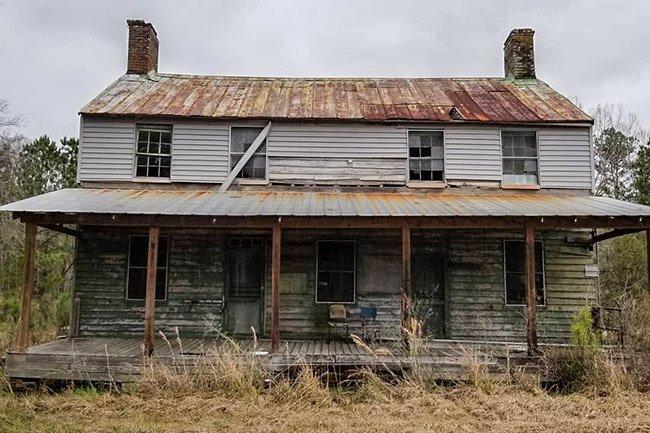 Jehossee Island Plantation House
