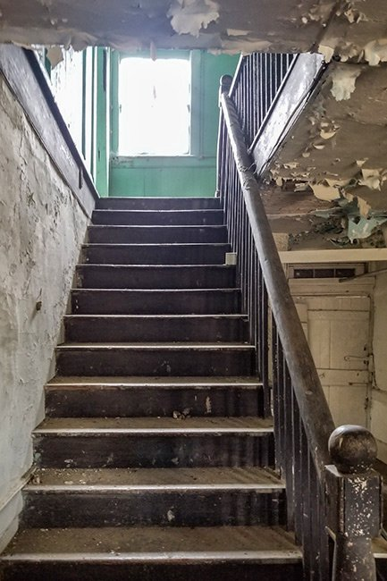 Jehossee Plantation Staircase
