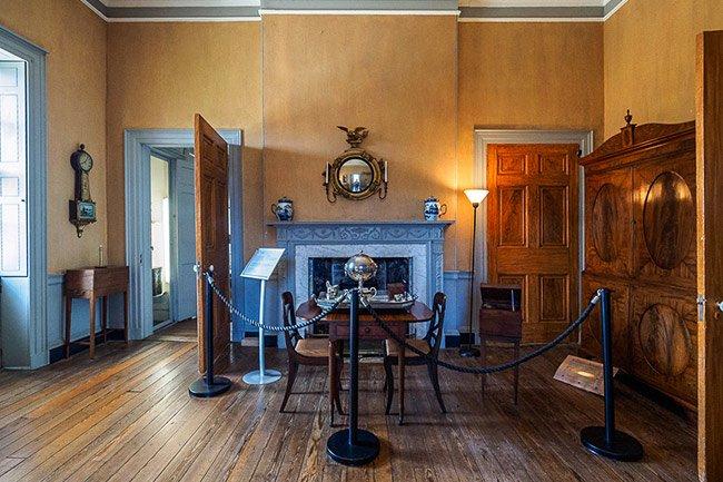 Joseph Manigault House Dining Room
