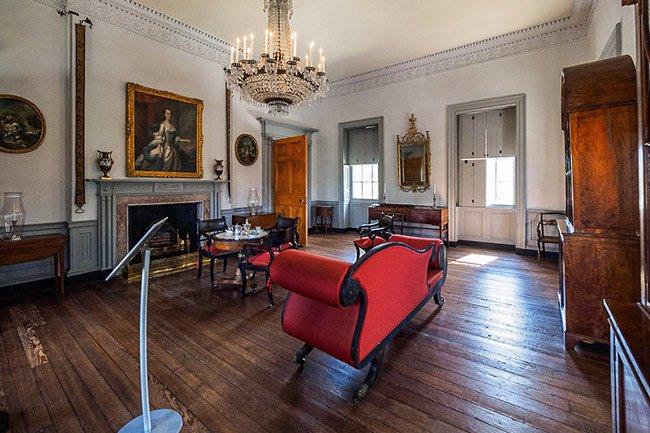 Joseph Manigault House Music Room
