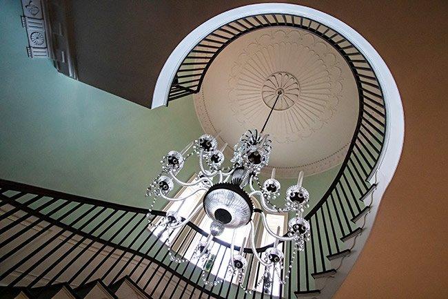 Joseph Manigault House Plafond