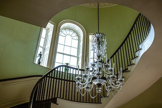 Joseph Manigault House Staircase