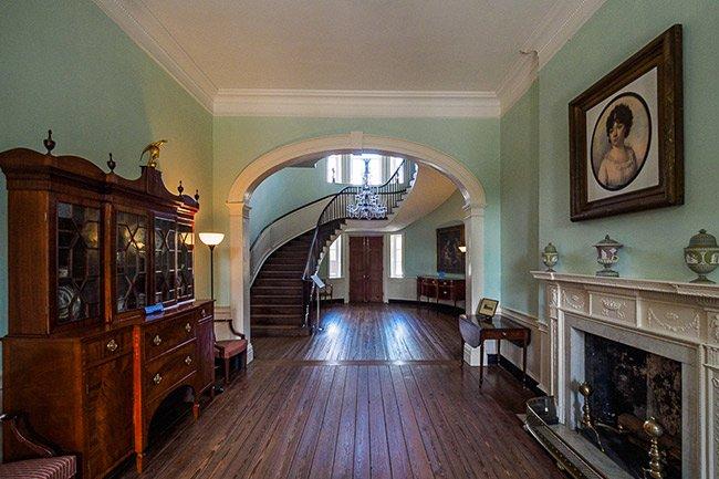Joseph Manigault House Stairwell