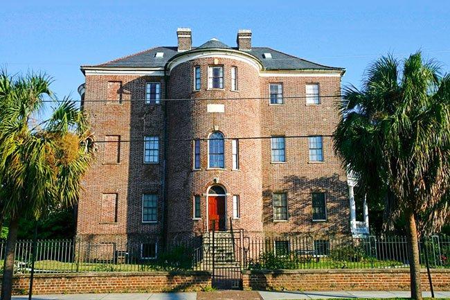 Joseph Manigault House, Street View