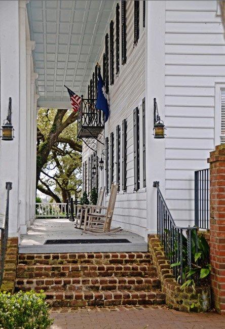 Kaminsky House Porch