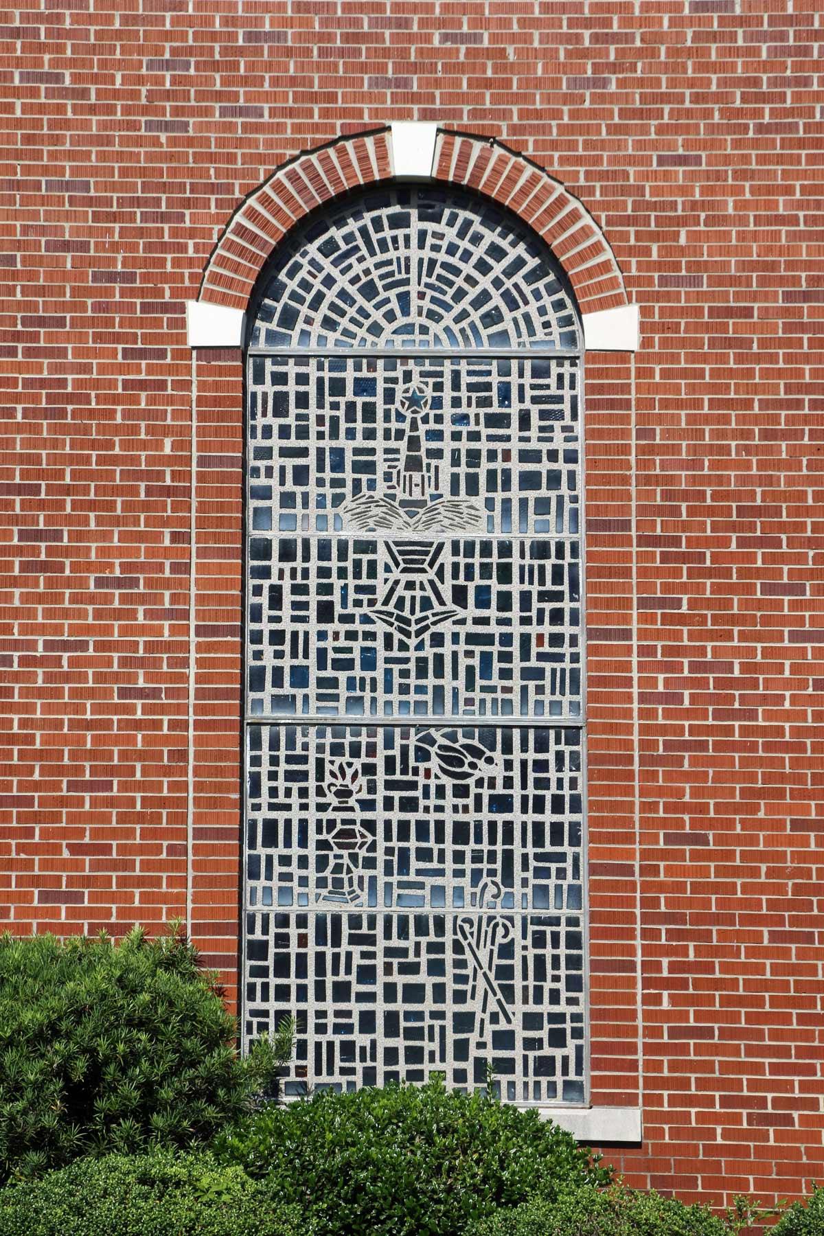 Kelleytown Baptist Church Window