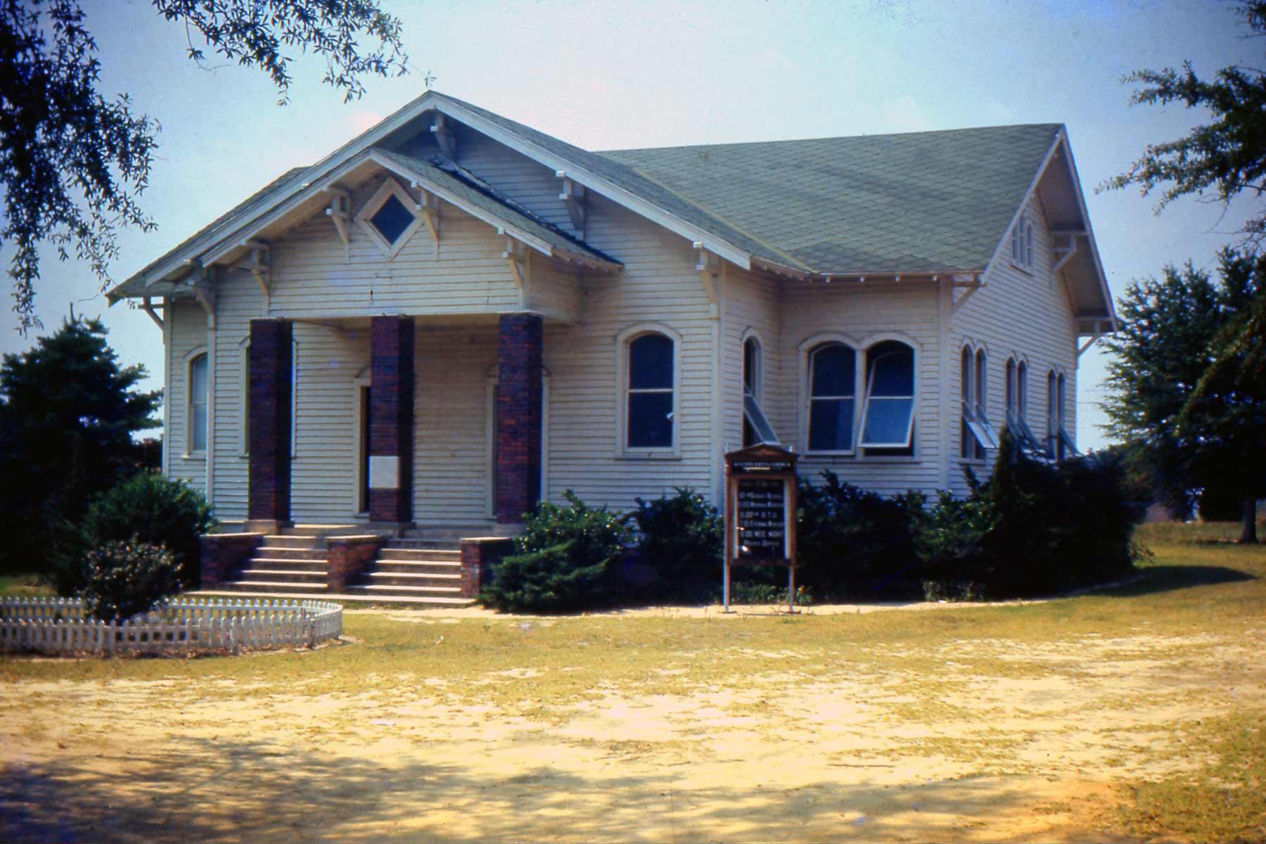 Kelleytown Baptist in Hartsville, Original Church