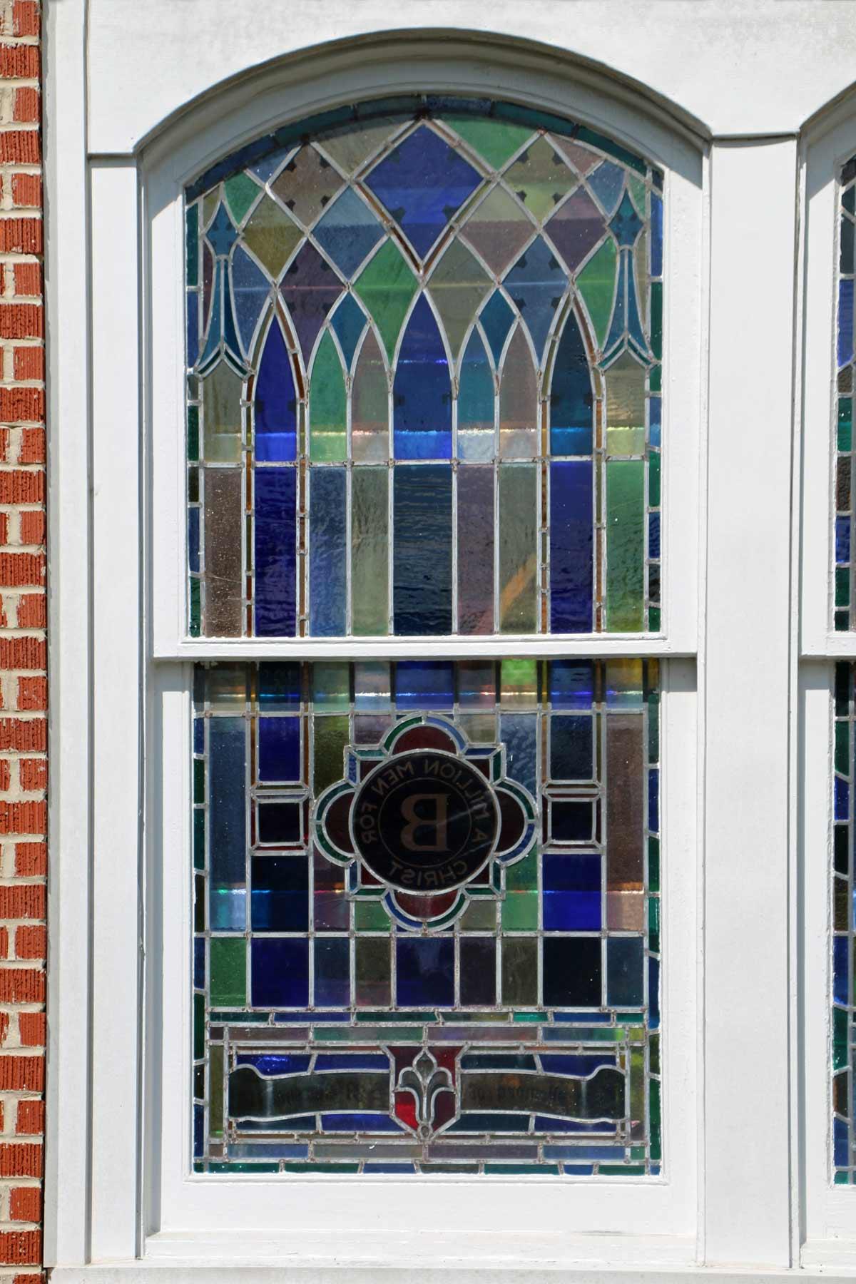 Kelleytown Baptist Stained Glass Window