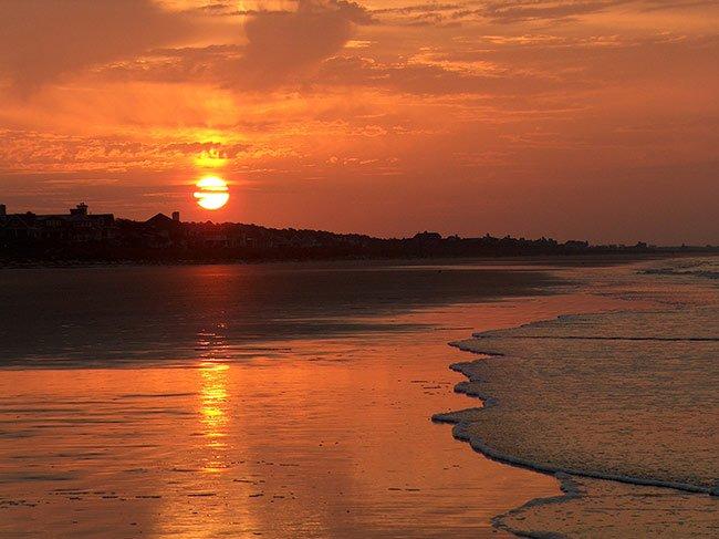 Kiawah Island Beach Sunset