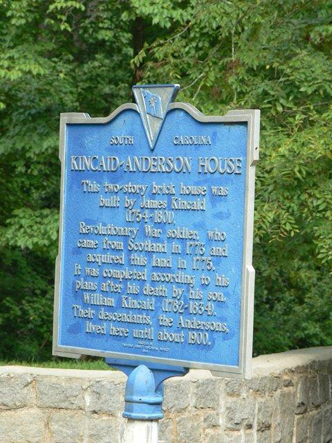 Kincaid-Anderson Historic Marker