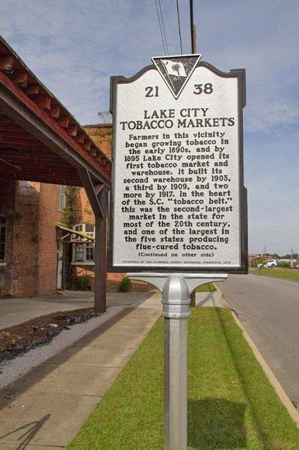 Lake City Tobacco Marker