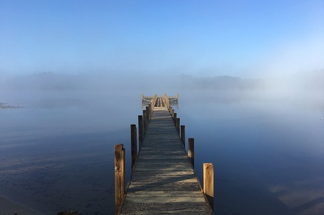 Lake Marion, Foggy Dock