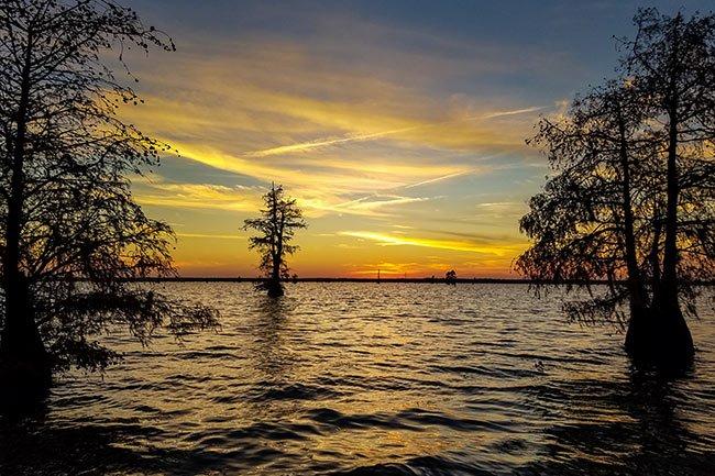 Lake Marion Santee Sunset