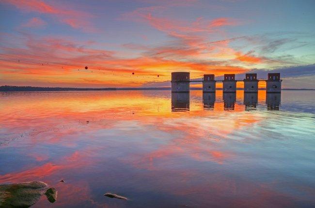 Lake Murray Intake Towers