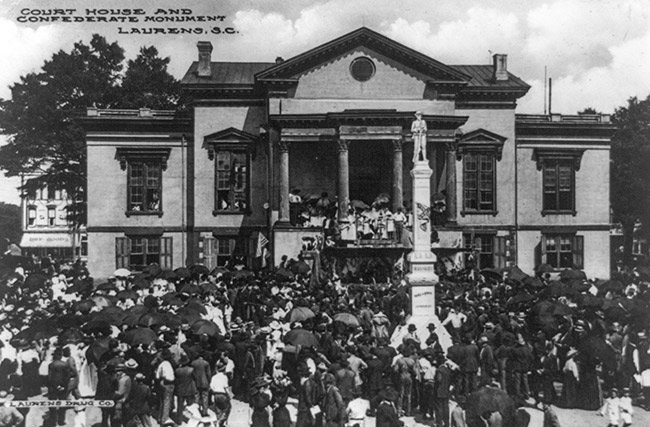 Laurens County Courthouse, 1910