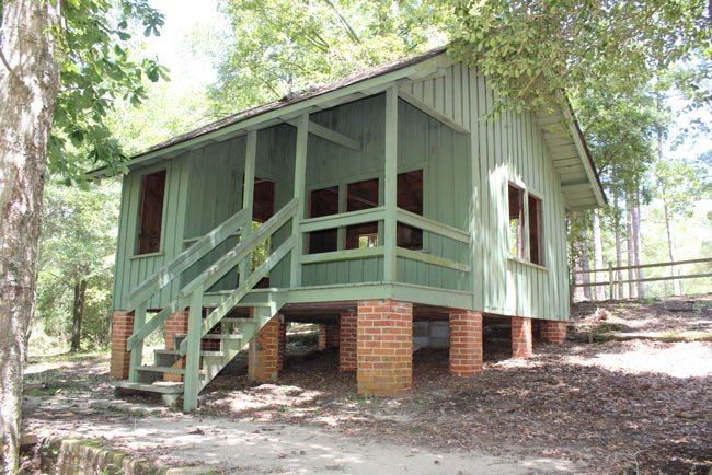 Lee State Park Cabin Front