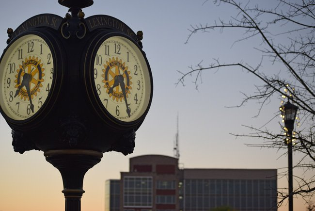 Lexington SC Town Clock