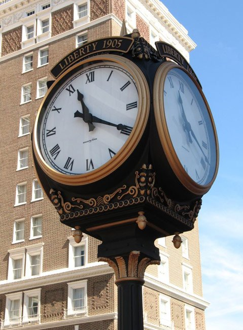 Liberty Clock Greenville